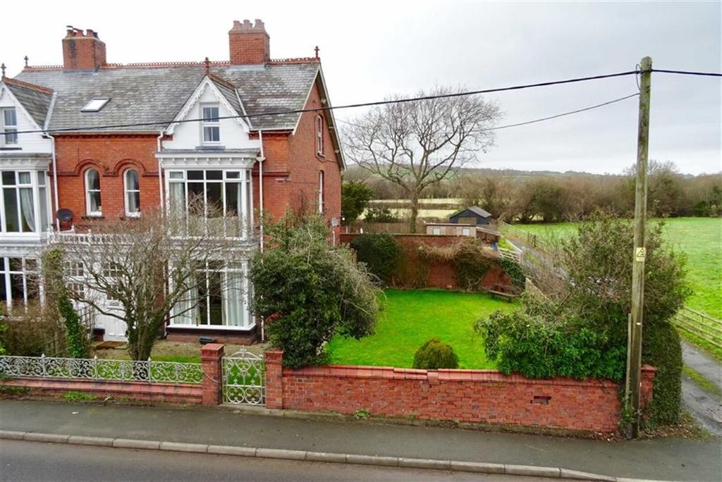 5 Bedrooms Semi Detached House for sale in Gorphwysfa, Carno Road, Carno Road, Caersws, Powys, SY17