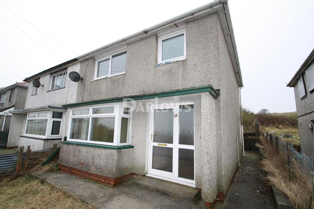 3 Bedrooms Semi Detached House for sale in Walter Conway Avenue, Cefn Golau