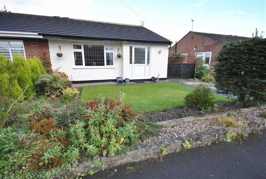 2 Bedrooms Semi Detached Bungalow for sale in TAPLEY AVENUE, POYNTON, Cheshire