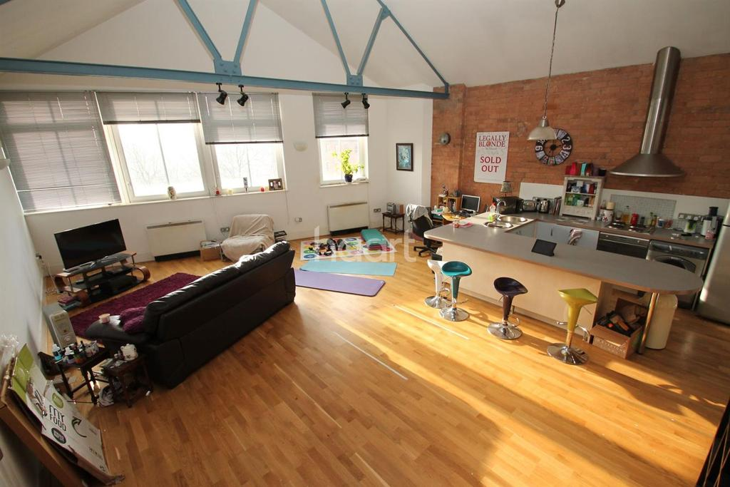 2 Bedrooms Flat for sale in Stibbe Lofts, Newarke Street, Leicester