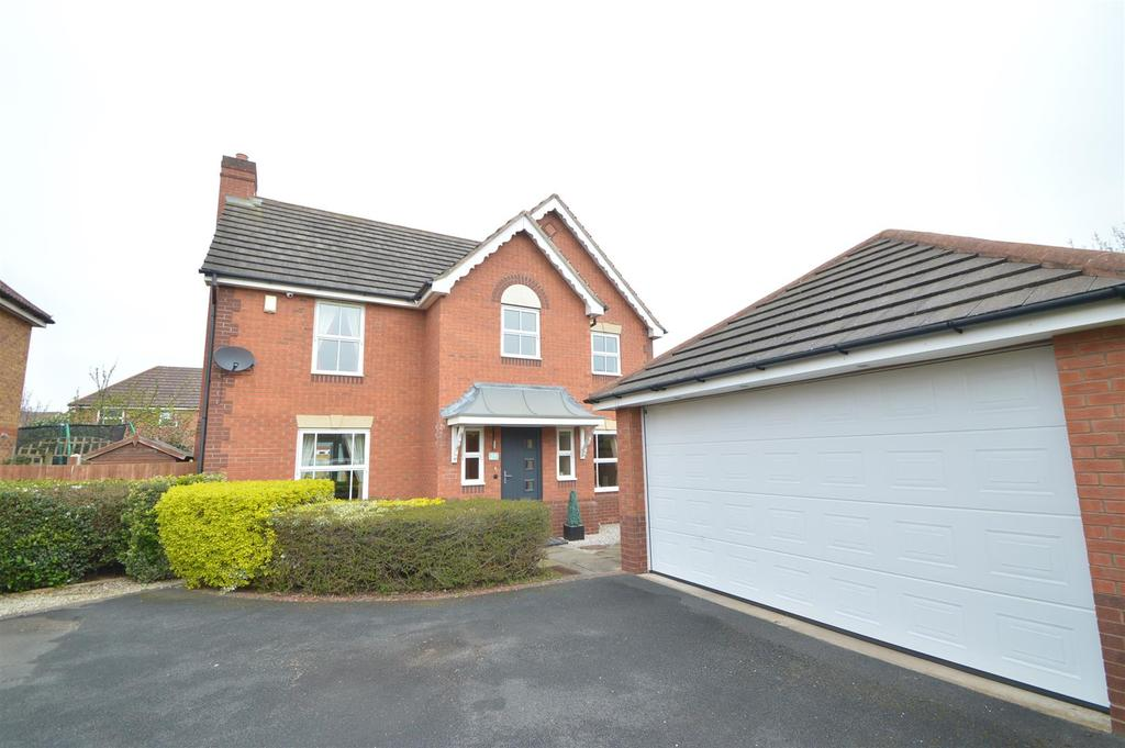 4 Bedrooms Detached House for sale in 29 Latchford Lane, Shrewsbury SY1 4YG
