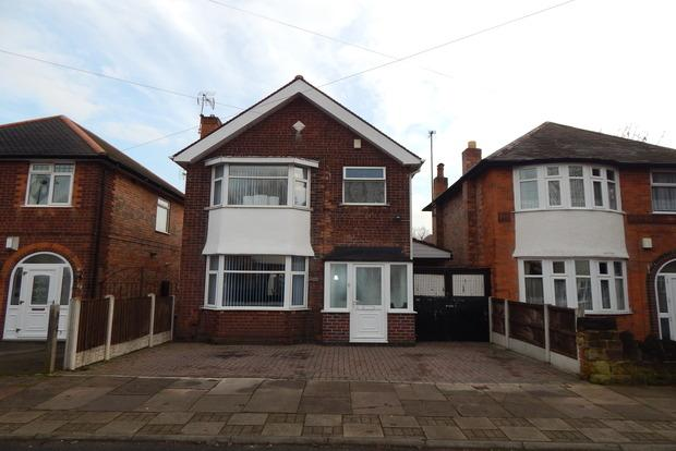 3 Bedrooms Detached House for sale in Newlyn Drive, Aspley, Nottingham, NG8