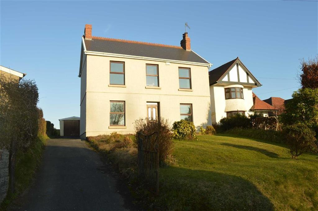 4 Bedrooms Detached House for sale in Hen Parc Lane, Upper Killay, Swansea