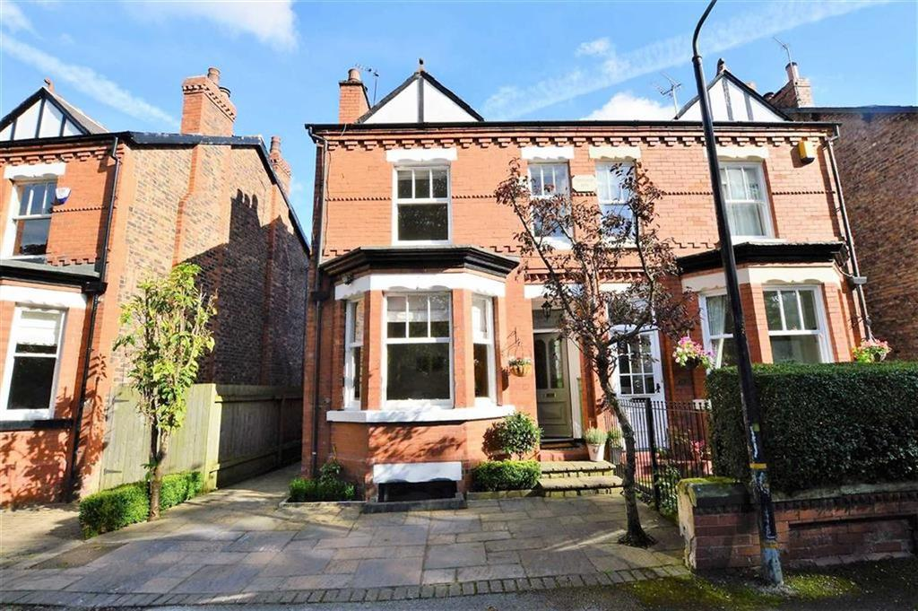 4 Bedrooms Semi Detached House for sale in Queens Road, Hale, Cheshire, WA15