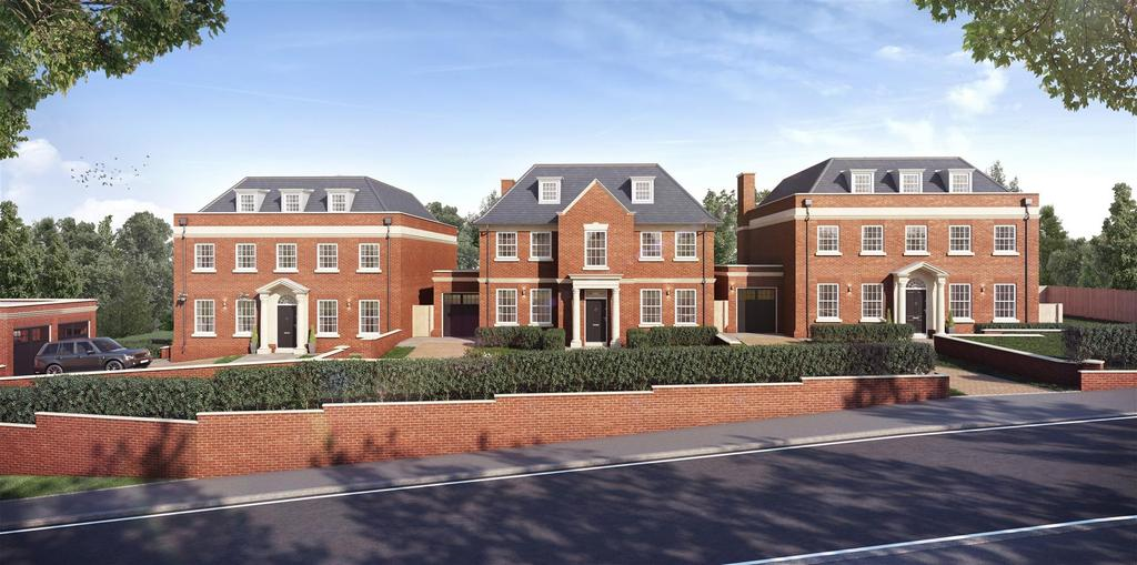 5 Bedrooms Detached House for sale in Rosebank, Eleventrees, Milespit Hill, NW7
