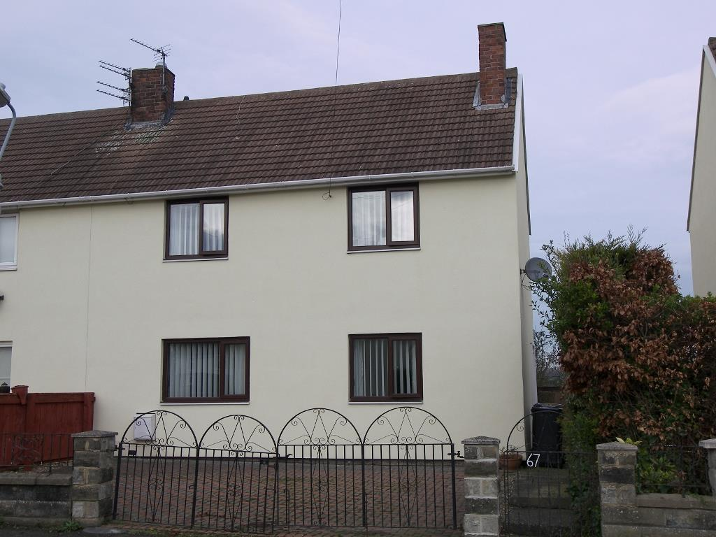 3 Bedrooms Semi Detached House for sale in Hebron Avenue, Pegswood, Morpeth