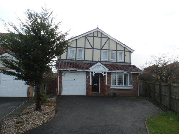 4 Bedrooms Detached House for sale in WASKERLEY DRIVE, SHOTTON, PETERLEE AREA VILLAGES