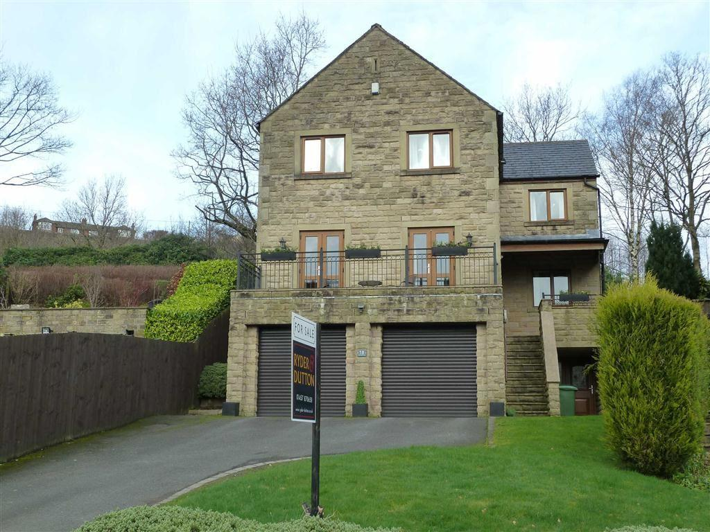4 Bedrooms Detached House for sale in Low Grove Lane, Greenfield, SADDLEWORTH, OL3
