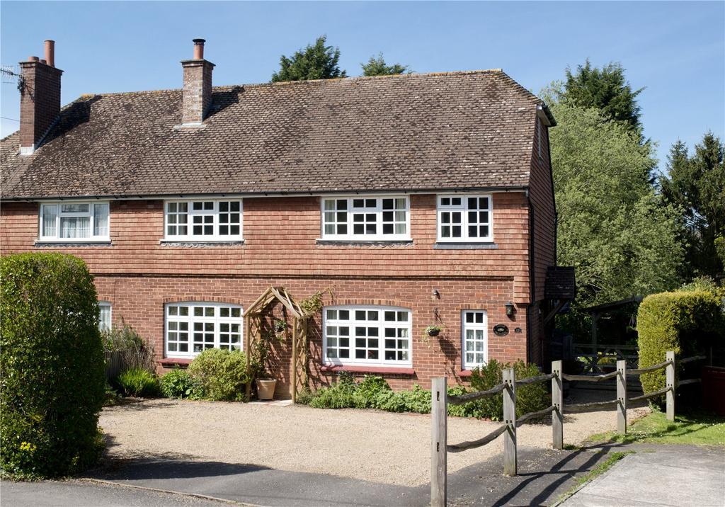 5 Bedrooms Semi Detached House for sale in St. Hildas, Plaxtol, Sevenoaks, Kent, TN15