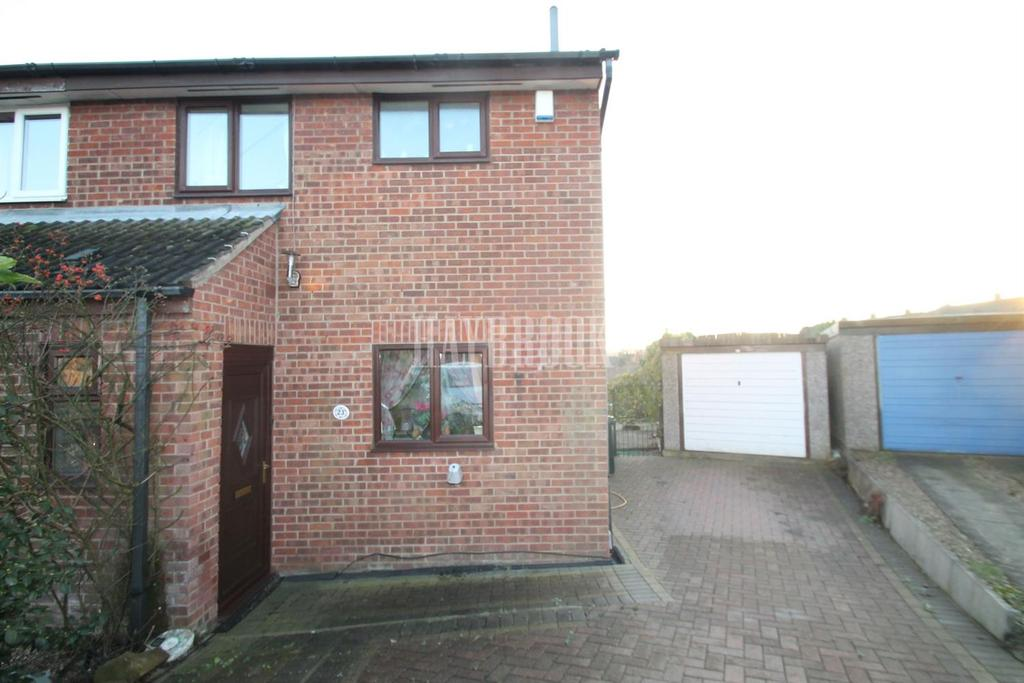 2 Bedrooms End Of Terrace House for sale in Fenton Croft, Kimberworth