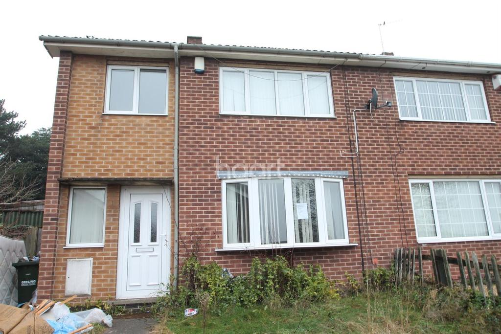 3 Bedrooms Semi Detached House for sale in Hanworth Gardens, Arnold, Nottingham