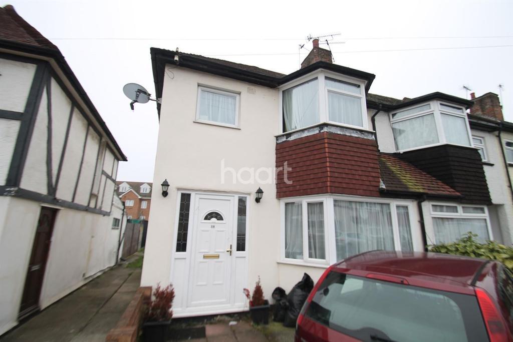 3 Bedrooms End Of Terrace House for sale in Ingram Road, Dartford