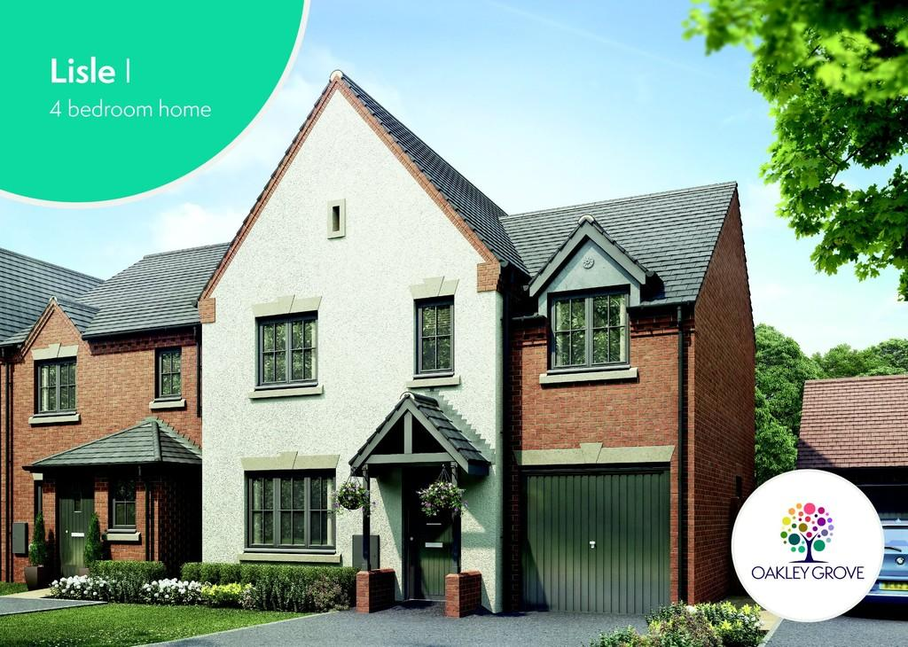 4 Bedrooms Detached House for sale in Plot 24 Lisle I Oakley Grove