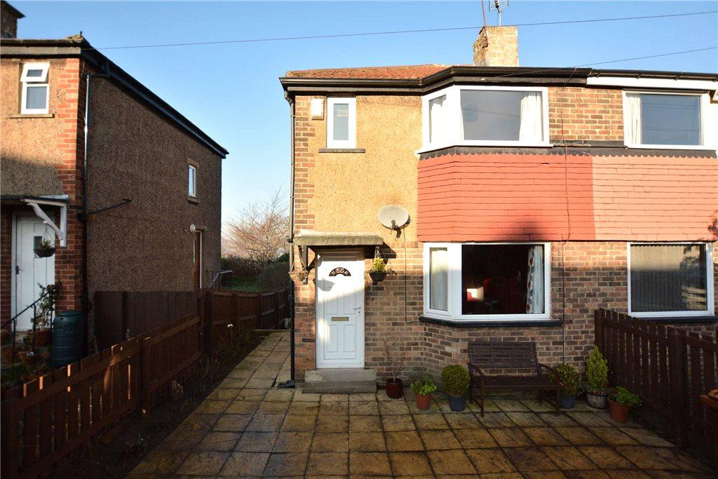 2 Bedrooms Semi Detached House for sale in Hill Court Drive, Leeds, West Yorkshire
