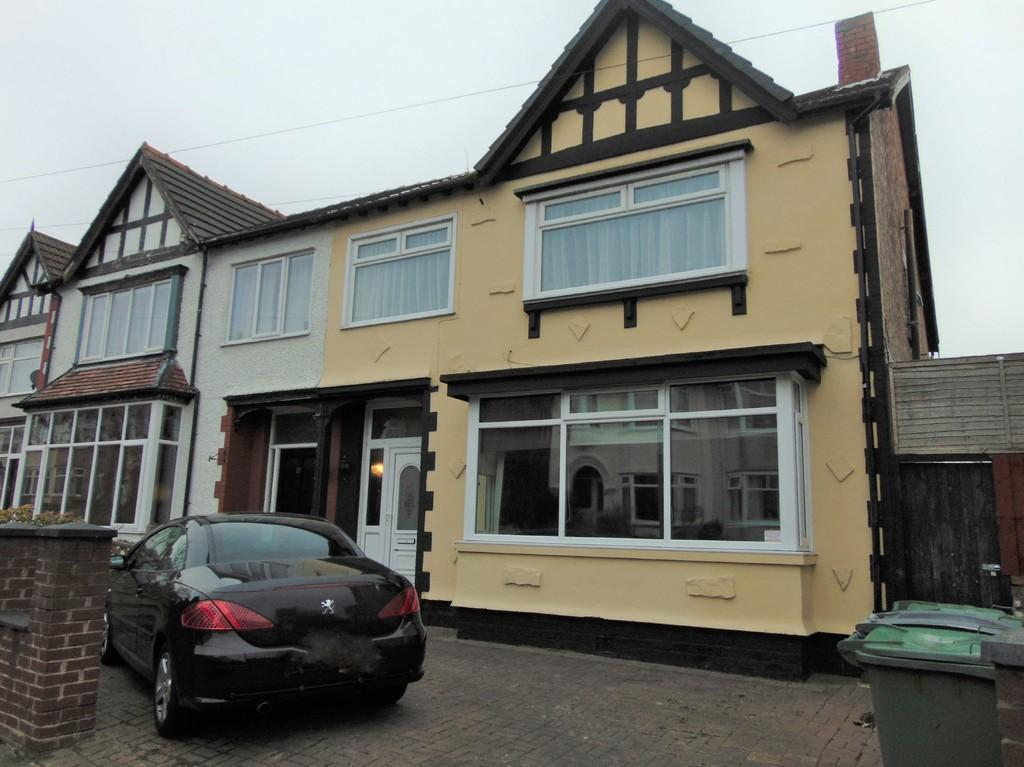 4 Bedrooms Semi Detached House for sale in Clare Crescent, Wallasey