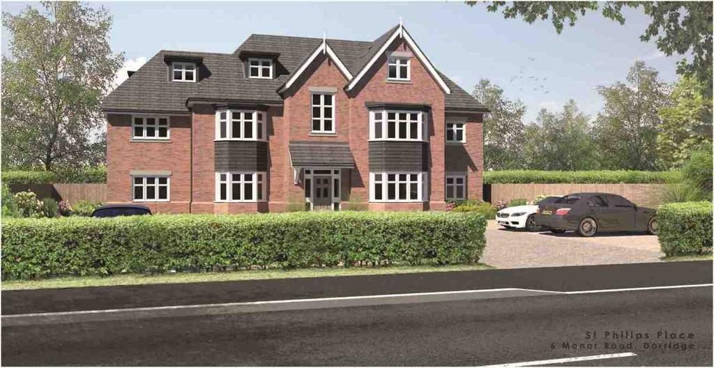 2 Bedrooms Apartment Flat for sale in Manor Road, Dorridge