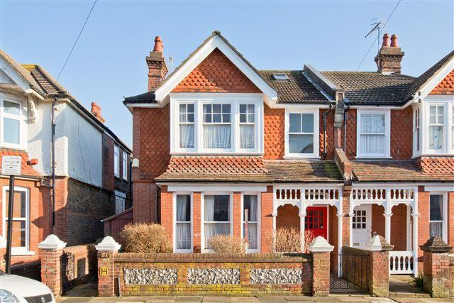 5 Bedrooms Semi Detached House for sale in Modena Road, Hove