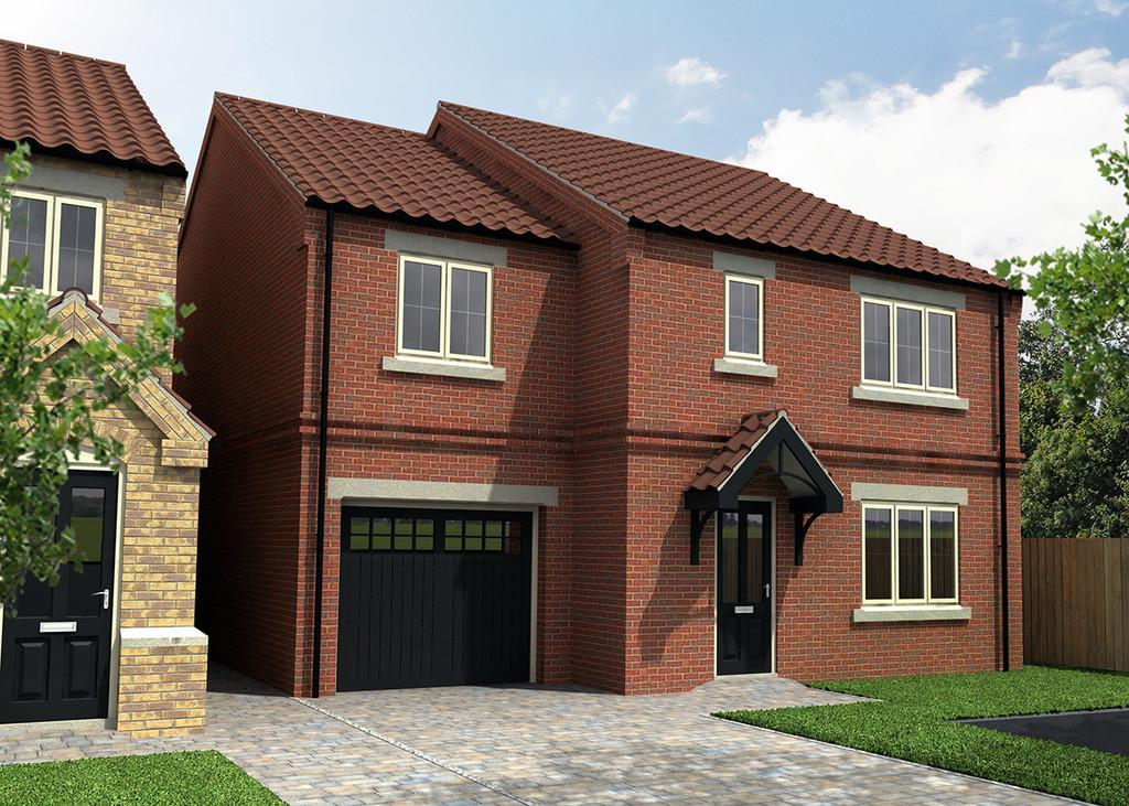 4 Bedrooms Detached House for sale in Plot 10, Stables View