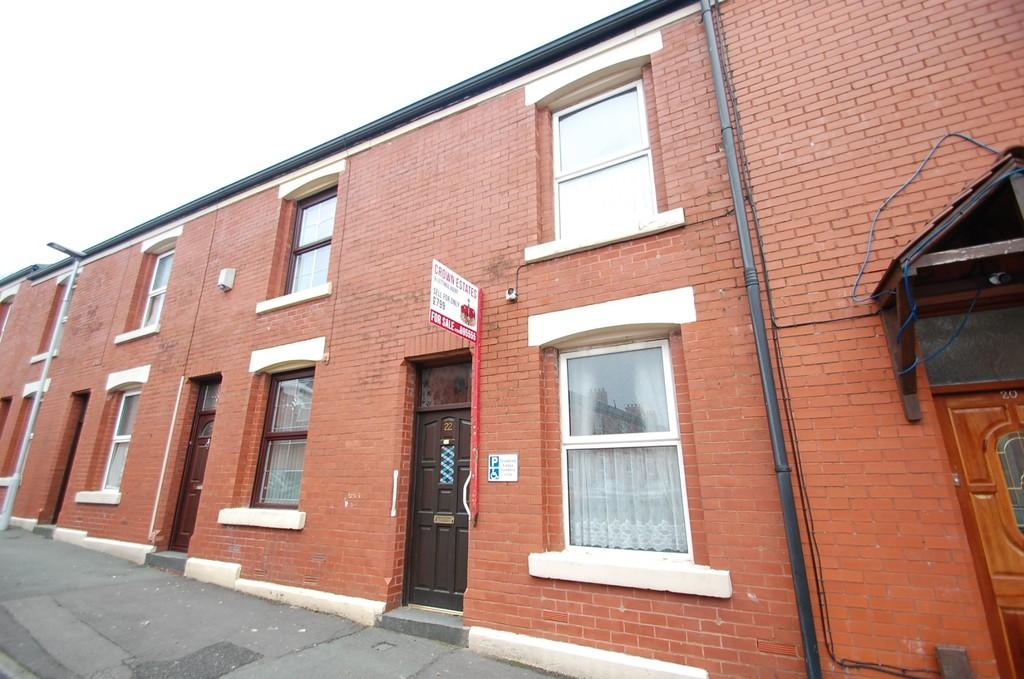 2 Bedrooms Terraced House for sale in 22 Chorlton Street, Whalley Range, Blackburn