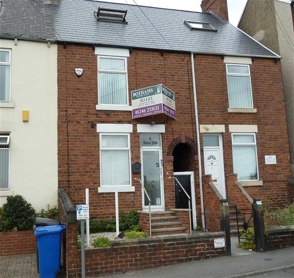 3 Bedrooms Terraced House for sale in Rose Hill, Chesterfield, S40