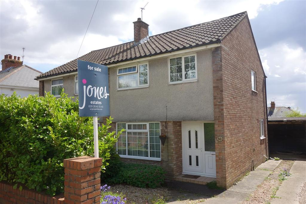 3 Bedrooms Semi Detached House for sale in Hastings Avenue, Penarth