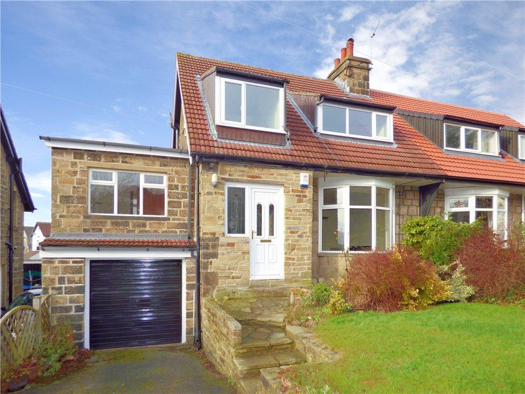 4 Bedrooms Semi Detached House for sale in Cliffestone Drive, East Morton, West Yorkshire