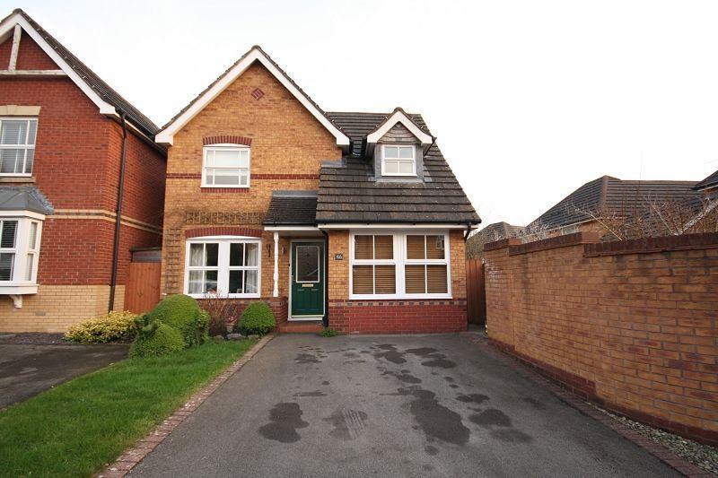 3 Bedrooms Detached House for sale in Cedar Wood Drive, Rogerstone, Newport, Newport. NP10 9JR