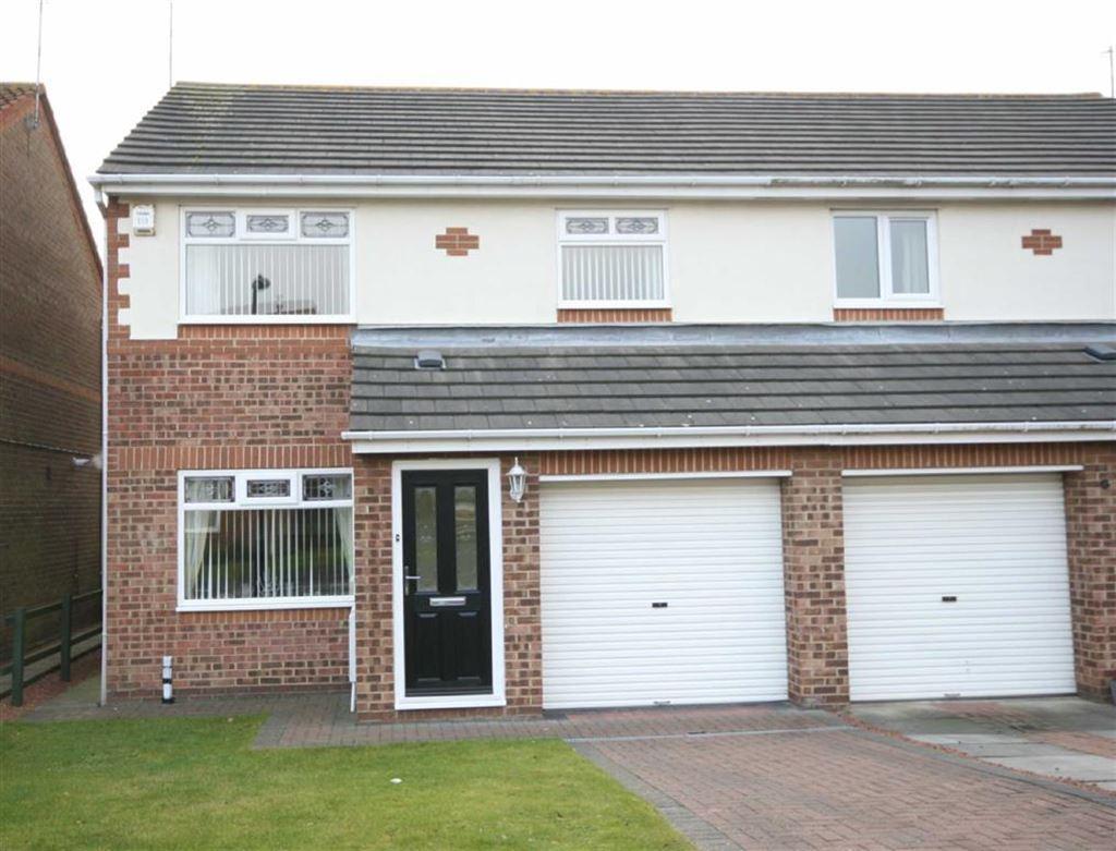 3 Bedrooms Semi Detached House for sale in Monks Wood, Tynemouth, Tyne Wear, NE30
