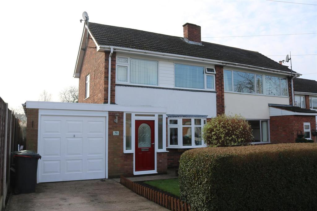 3 Bedrooms Semi Detached House for sale in Freville Close, Tamworth