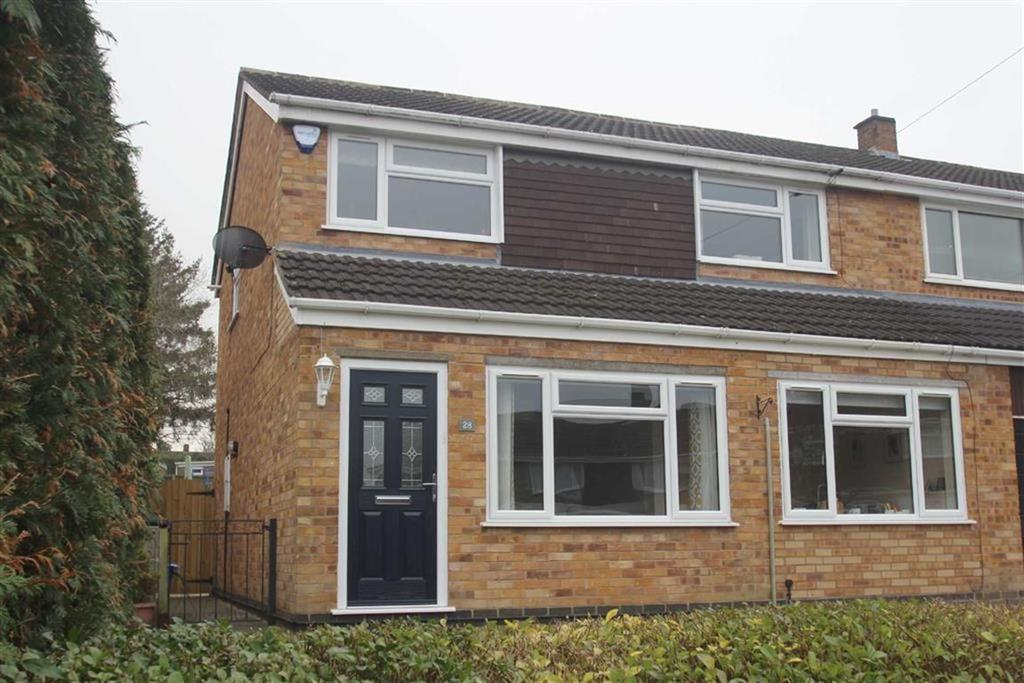 3 Bedrooms Semi Detached House for sale in Langley Drive, Bayston Hill, Shrewsbury