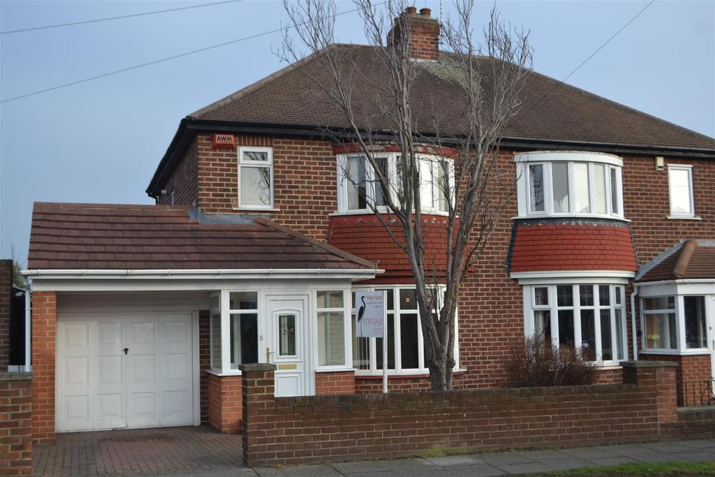 3 Bedrooms Semi Detached House for sale in Kirkstone Avenue, Fulwell, Sunderland
