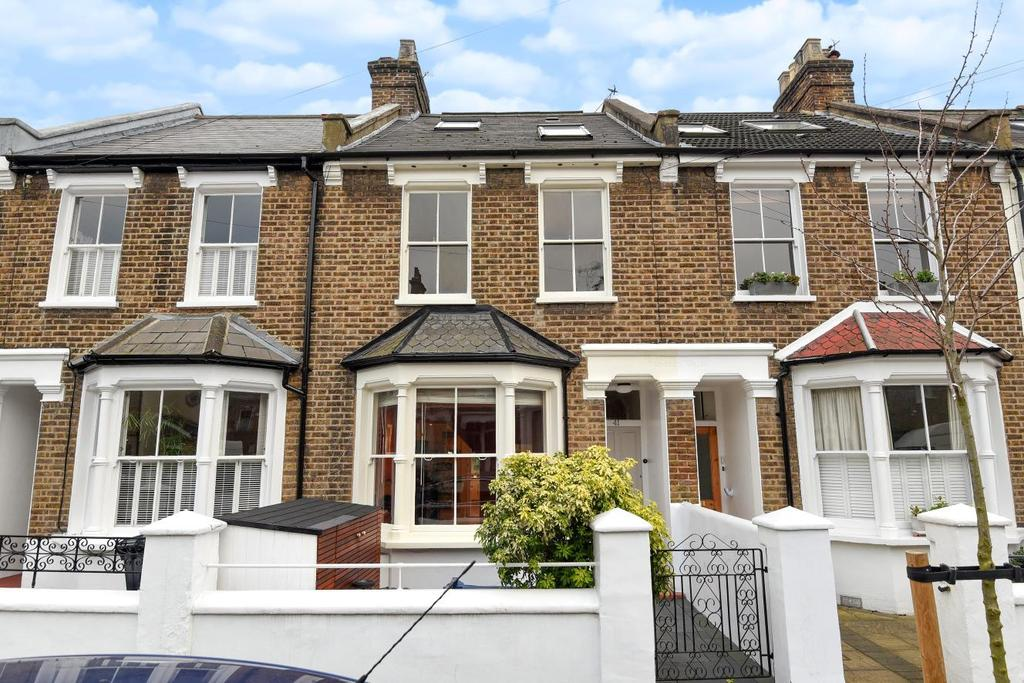 3 Bedrooms Terraced House for sale in Montgomery Road, Chiswick, W4