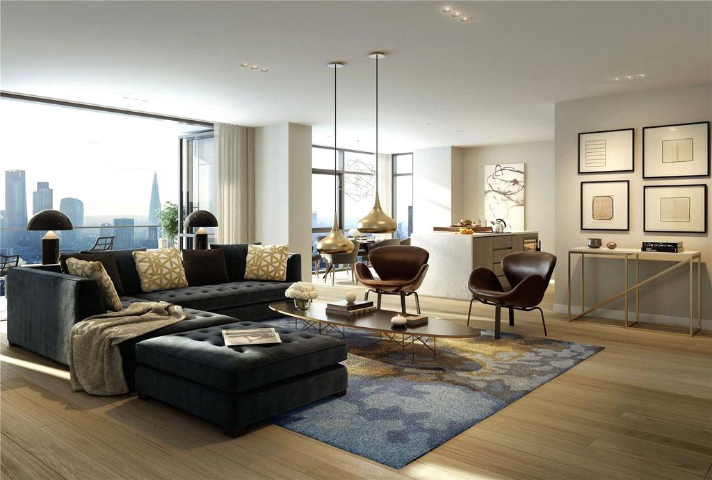 3 Bedrooms Flat for sale in The Atlas Building, City Road, London