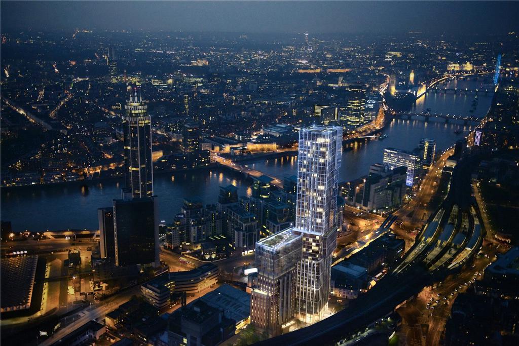 3 Bedrooms Flat for sale in Aykon London One, 63-71 Bondway, Nine Elms, London, SW8