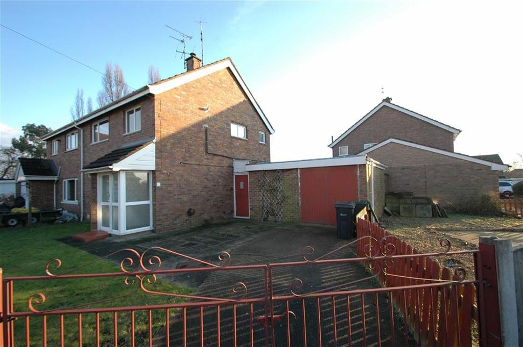 3 Bedrooms Semi Detached House for sale in Ashfield Crescent, Blacon, Chester