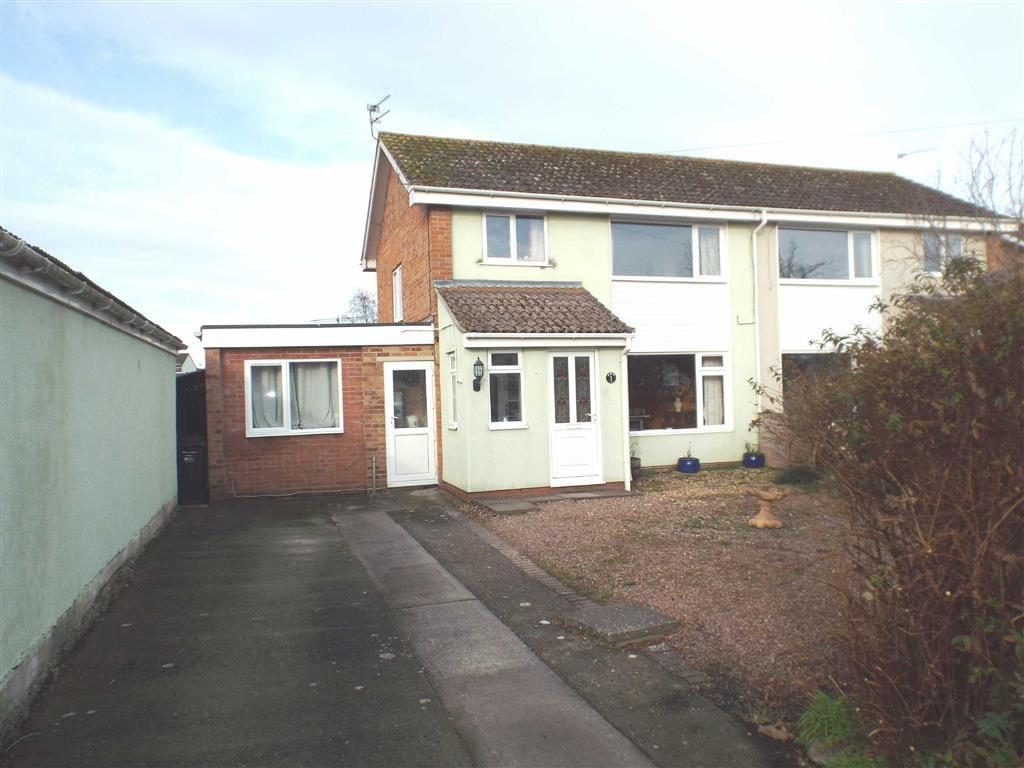 3 Bedrooms Semi Detached House for sale in Adams Close, Highbridge