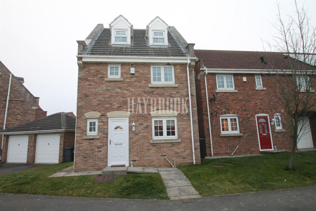 4 Bedrooms Detached House for sale in Prominence Way, Woodlaithes Villagee