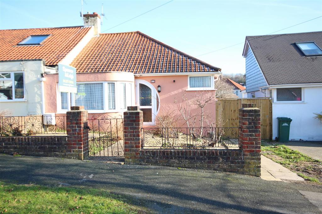 2 Bedrooms Semi Detached Bungalow for sale in Glenfalls Avenue, Patcham, Brighton
