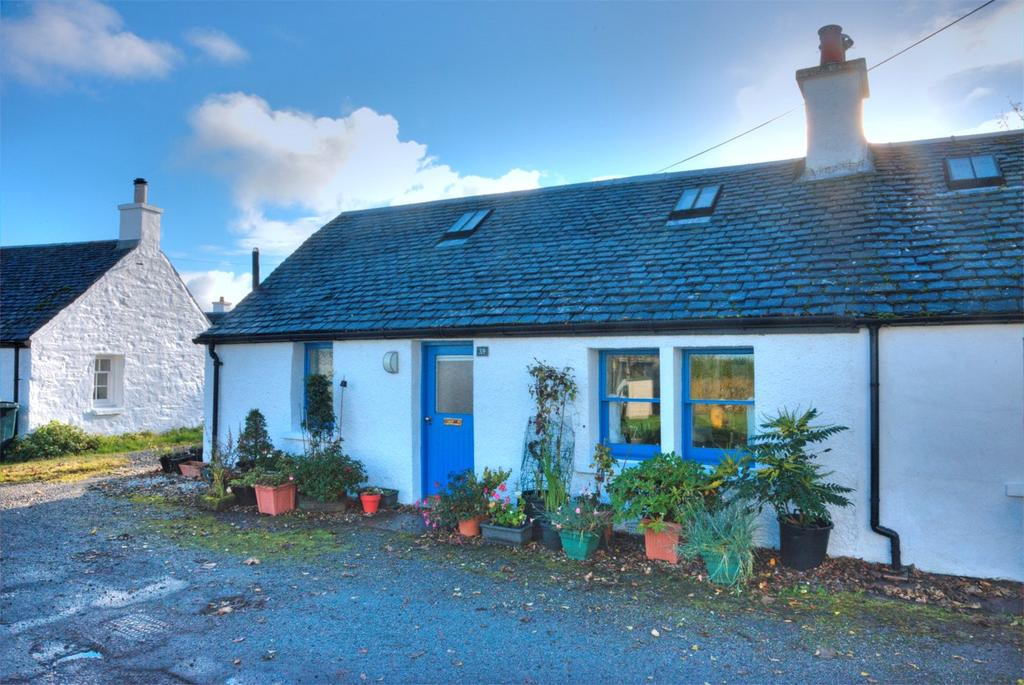 1 Bedroom Semi Detached House for sale in 39 Toberonochy, Toberonochy, Oban, Argyll and Bute, PA34