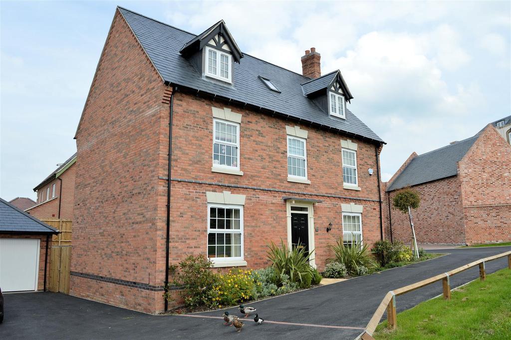 5 Bedrooms Detached House for sale in James Way, Scraptoft