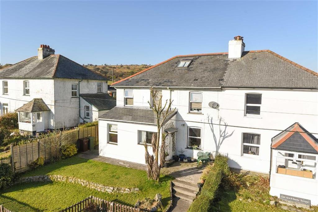 3 Bedrooms Semi Detached House for sale in Duchy Terrace, Minions, Liskeard, Cornwall, PL14