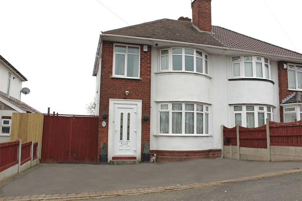 3 Bedrooms Semi Detached House for sale in Windsor Road, HALESOWEN, West Midlands