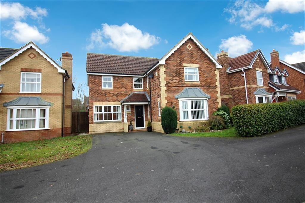 4 Bedrooms Detached House for sale in Greenlee Drive, Newcastle Upon Tyne, NE7