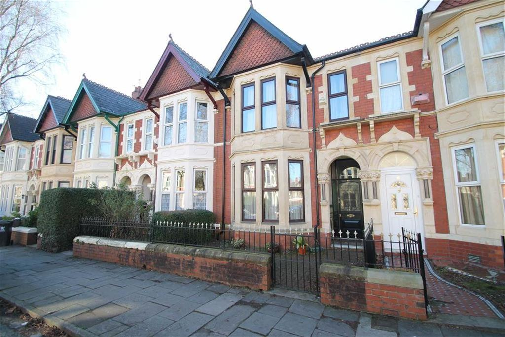 4 Bedrooms Terraced House for sale in Kimberley Road, Roath, Cardiff