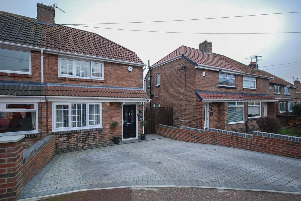 2 Bedrooms Semi Detached House for sale in Belford Gardens, Lobley Hill