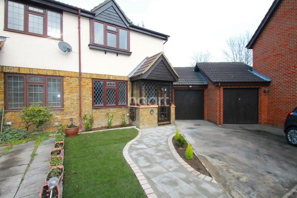 2 Bedrooms Semi Detached House for sale in Yeading
