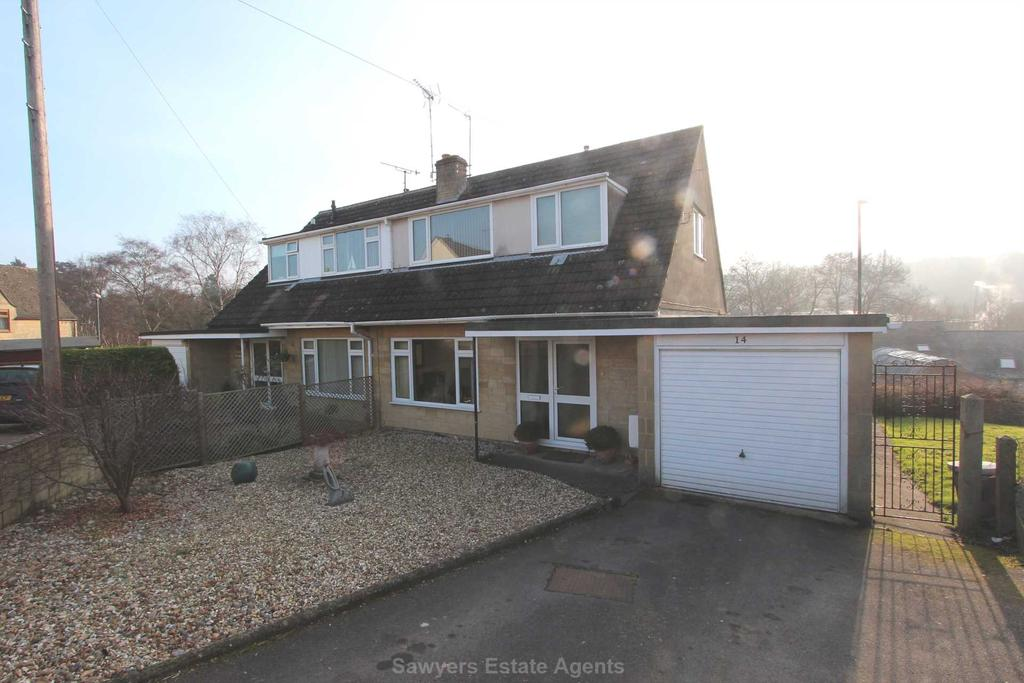 3 Bedrooms Semi Detached House for sale in Burford Drive, Stroud