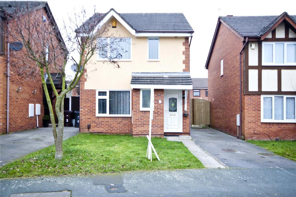 3 Bedrooms Detached House for sale in Harrier Drive, Liverpool, Merseyside, L26