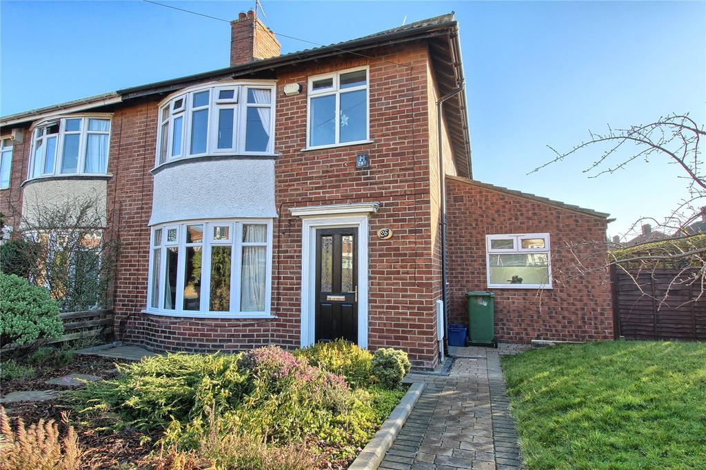 3 Bedrooms Semi Detached House for sale in Malvern Road, Billingham