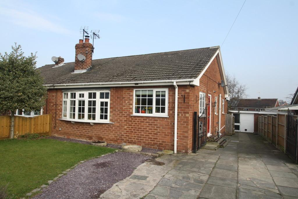 3 Bedrooms Semi Detached Bungalow for sale in 18 Brookside, Ashton Hayes, CH3 8BZ
